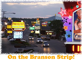 On the Branson Strip!
